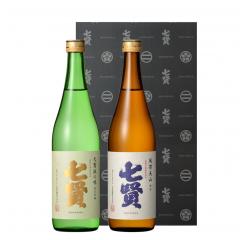 【720mlセット】純米吟醸 天鵞絨の味、純米 風凛美山