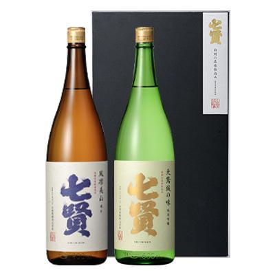 【1800mlセット】純米吟醸 天鵞絨の味+純米 風凛美山
